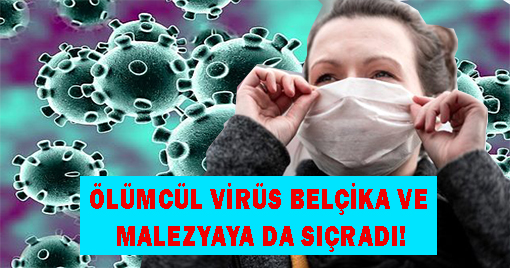 Ölümcül Virüs Belçika Ve Malezya'ya da Sıçradı!