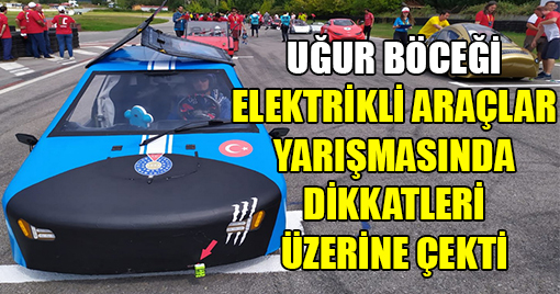 Uğur Böceği Elektrikli Araçlar Yarışmasında Büyük İlgi Gördü!
