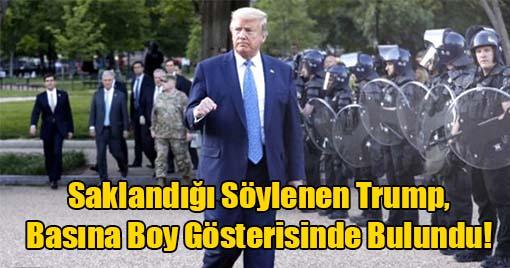 Donald Trump'tan Protestocuları Kızdıracak Adım!