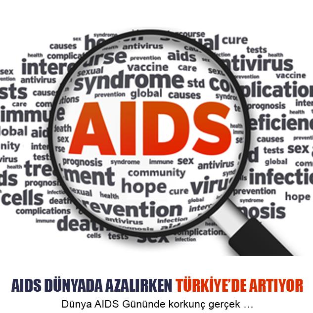 Dünya AIDS Gününde korkunç gerçek …