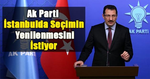 Ak Parti'den Flaş İstanbul Kararı!