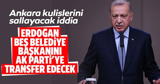 Erdoğan'dan Ankara Kulislerini Sallayacak İddia