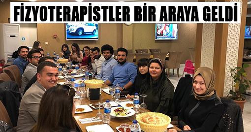 FİZYOTERAPİSTLER BİR ARAYA GELDİ