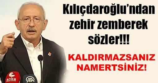 Son dakika: Kılıçdaroğlu'ndan Parti Liderine Zehir Zemberek Sözler!