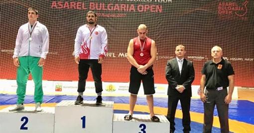 Kahramanmaraşlı Sporcu Balkan Şampiyonu