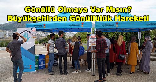 Büyükşehirden Gönüllülük Hareketi