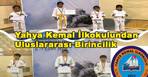 Yahya Kemal İlkokulundan Uluslararası Birincilik