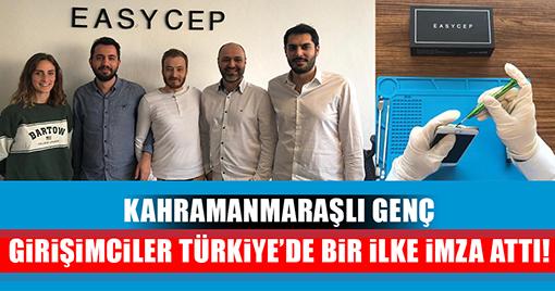 Kahramanmaraşlı Genç Girişimciler Türkiye'de Bir İlke İmza Attı!