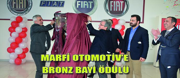 MARFİ OTOMOTİV'E BRONZ BAYİ ÖDÜLÜ