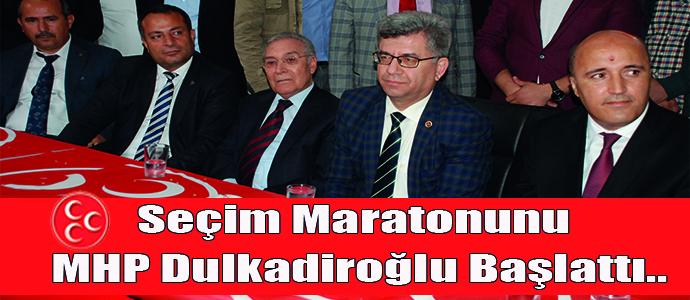 Seçim Maratonunu MHP Dulkadiroğlu Başlattı..
