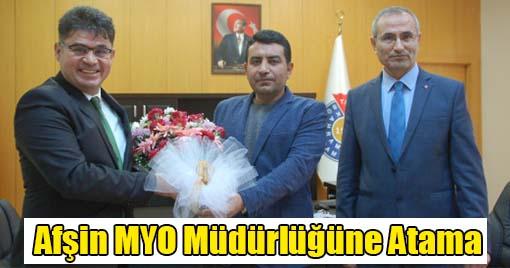 Afşin MYO Müdürlüğüne Atama