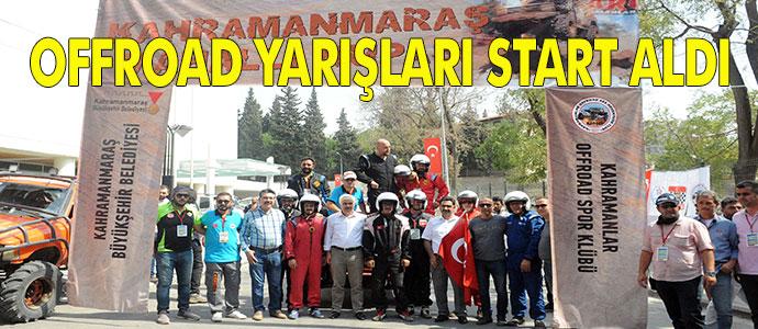 OFFROAD YARIŞLARI START ALDI