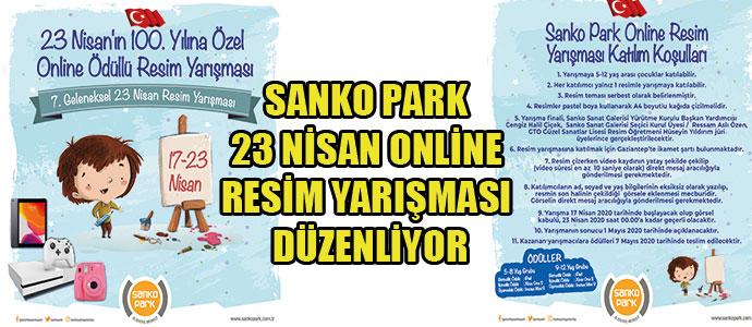 Sanko Park 23 Nisan Online Resim Yarışması Düzenliyor