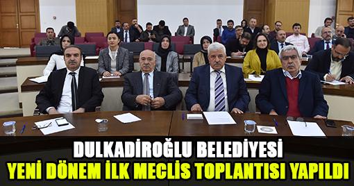 YENİ DÖNEM İLK MECLİS TOPLANTISI YAPILDI!