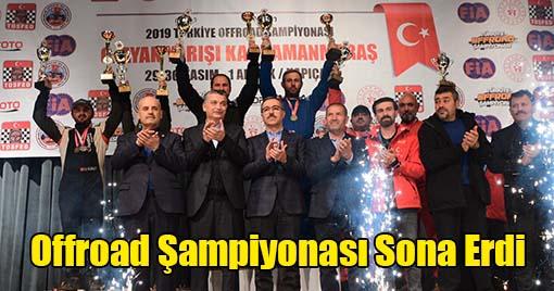Offroad Şampiyonasının Kazananları Belli Oldu